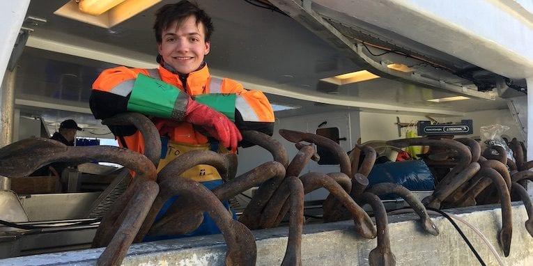 person ferdig med årets fiskekvote