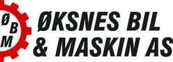 Øksnes Bil & Maskin AS logo